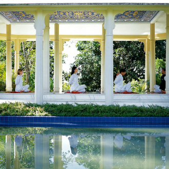 ananda – a down-to-earth retreat up in the clouds