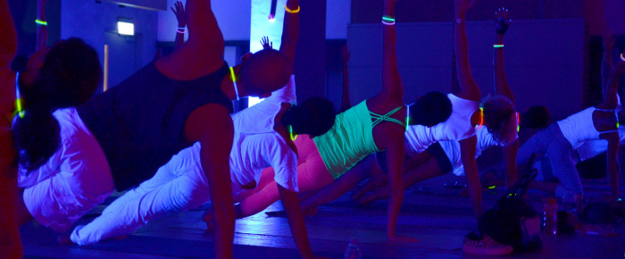 go yoga glow flow…
