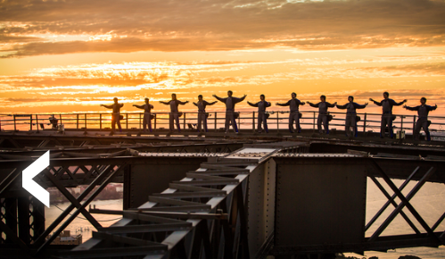 tai chi with THE view – on sydney harbour bridge